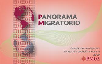 Panorama Migratorio. Migración internacional: tendencias mundiales y dimensiones del fenómeno en México